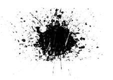 Ходы щетки заплат цвета графические конструируют элемент влияния для предпосылки Стоковые Изображения RF