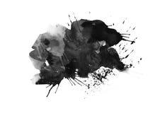 Ходы щетки заплат цвета графические конструируют элемент влияния для предпосылки Стоковая Фотография