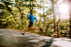 ход бегуна человека быстрый Стоковая Фотография RF