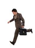 ход бизнесмена портфеля Стоковое Изображение RF