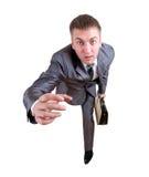 ход бизнесмена портфеля Стоковая Фотография RF