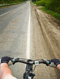 ход велосипеда Стоковая Фотография