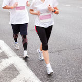 ход людей марафона Стоковое Изображение