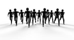 ход людей Стоковое Изображение