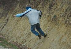 ход мальчика Стоковое Изображение RF