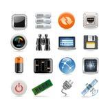 хозяйничать комплект иконы Стоковое фото RF
