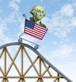 хозяйственная американская горка езды Стоковые Изображения