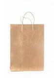 Хозяйственная сумка бумаги Kraft стоковая фотография