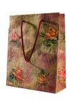 Хозяйственная сумка изолированная на белой предпосылке Стоковые Изображения RF