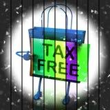 Хозяйственная сумка налога свободная представляет скидки обязанности неподатные бесплатная иллюстрация