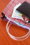Хозяйственная сумка Стоковое фото RF