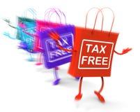 Хозяйственные сумки налога свободные представляют скидки обязанности неподатные иллюстрация штока