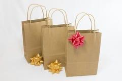 Хозяйственные сумки чистой бумаги Стоковое фото RF