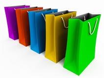 Хозяйственные сумки Стоковое фото RF