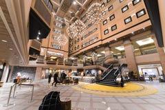Хоккаидо, Япония - 11-ое января 2017: Kiroro курорт 5 звезд Стоковое Фото