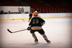 Хоккеист Стоковая Фотография RF