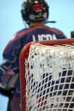 хоккей вратаря Стоковое Изображение RF