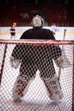 хоккей голкипера черного оборудования родовой Стоковые Изображения