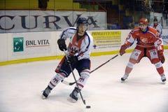 хоккей Италия milano стоковая фотография