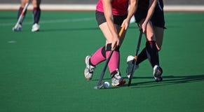 Хоккей на траве Стоковые Фото