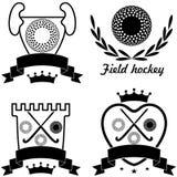 Хоккей на траве Стоковая Фотография