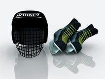 хоккей шестерни Стоковая Фотография RF
