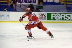 хоккей gherdeina клуба стоковое изображение