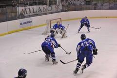 хоккей milano клуба стоковые изображения