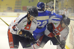 хоккей milano клуба стоковое изображение