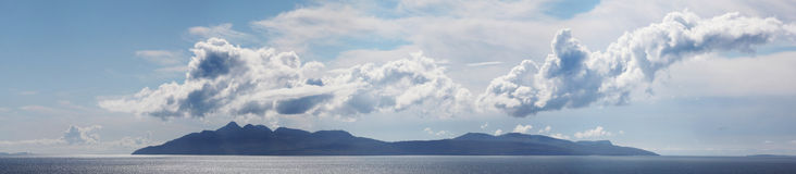 Холмистый ландшафт Стоковая Фотография