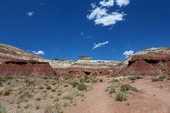Холмы в пустыне Юта Стоковые Фотографии RF