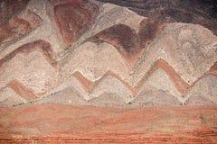 Холмы зигзага в США Стоковая Фотография