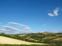 холмы итальянские Стоковая Фотография RF