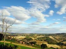 холмы итальянские Стоковая Фотография