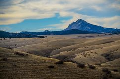 Холмы и горы Вайоминга Стоковая Фотография RF