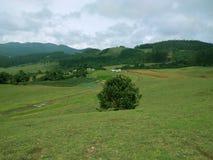 Холмы и горы Красивое scape земли Стоковые Фотографии RF