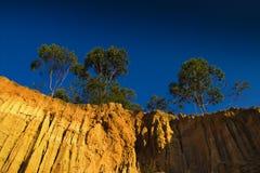 холмы красные Стоковое Фото