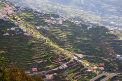 холмы Мадейра Стоковое фото RF