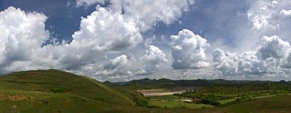 холмы над гулять Стоковое Фото