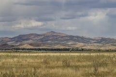 Холмы над Moroni, Ютой Стоковые Изображения RF