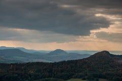 Холмы осени Стоковая Фотография RF