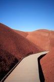 холмы покрасили дорожку Стоковое Фото