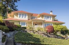 Холмы Портленд Орегон недвижимости западные стоковые изображения