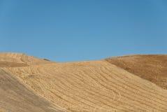 холмы присицилийские Стоковые Фото