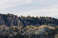 холмы утесистые стоковые изображения rf