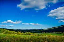 Холмы Catskill завальцовки Стоковое Изображение
