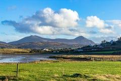 Холмы Donegal, Ирландия на красивый день в ноябре стоковые изображения rf