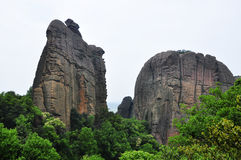 Холмы Guifeng Стоковое Изображение RF
