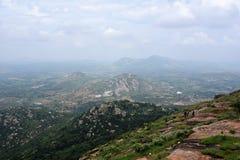 Холмы Horsley, Андхра-Прадеш, Индия стоковое изображение rf