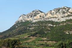 Холмы Patrimonio стоковая фотография rf
